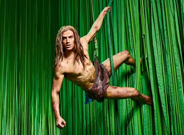 Musical Tarzan. Foto: Stage Entertainment