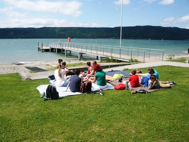 Chillen am Bodensee. Foto: Anne Höpper